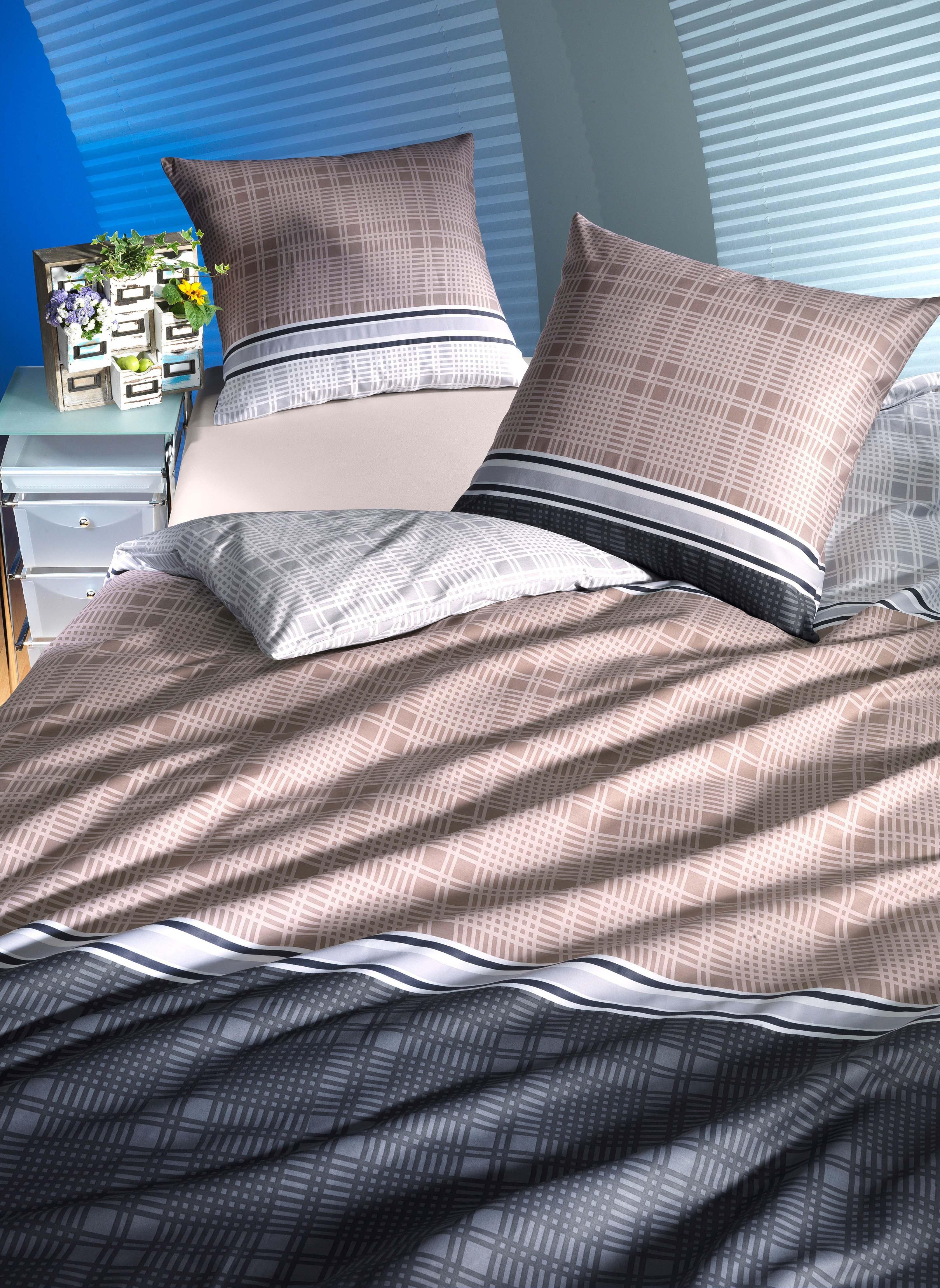Biancheria da letto in satin «ELEGANCE»