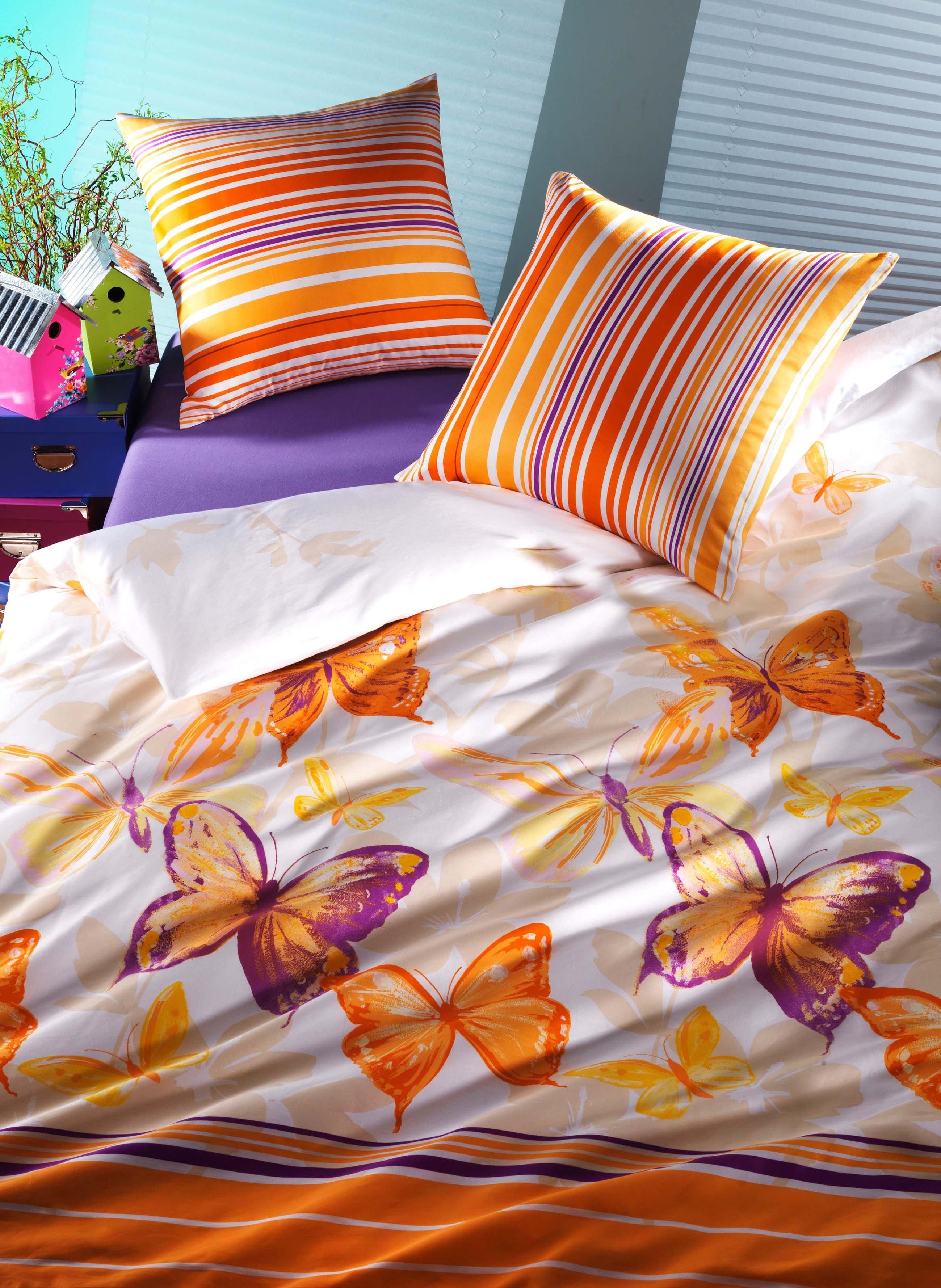 Biancheria da letto in satin «SUNSHINE»