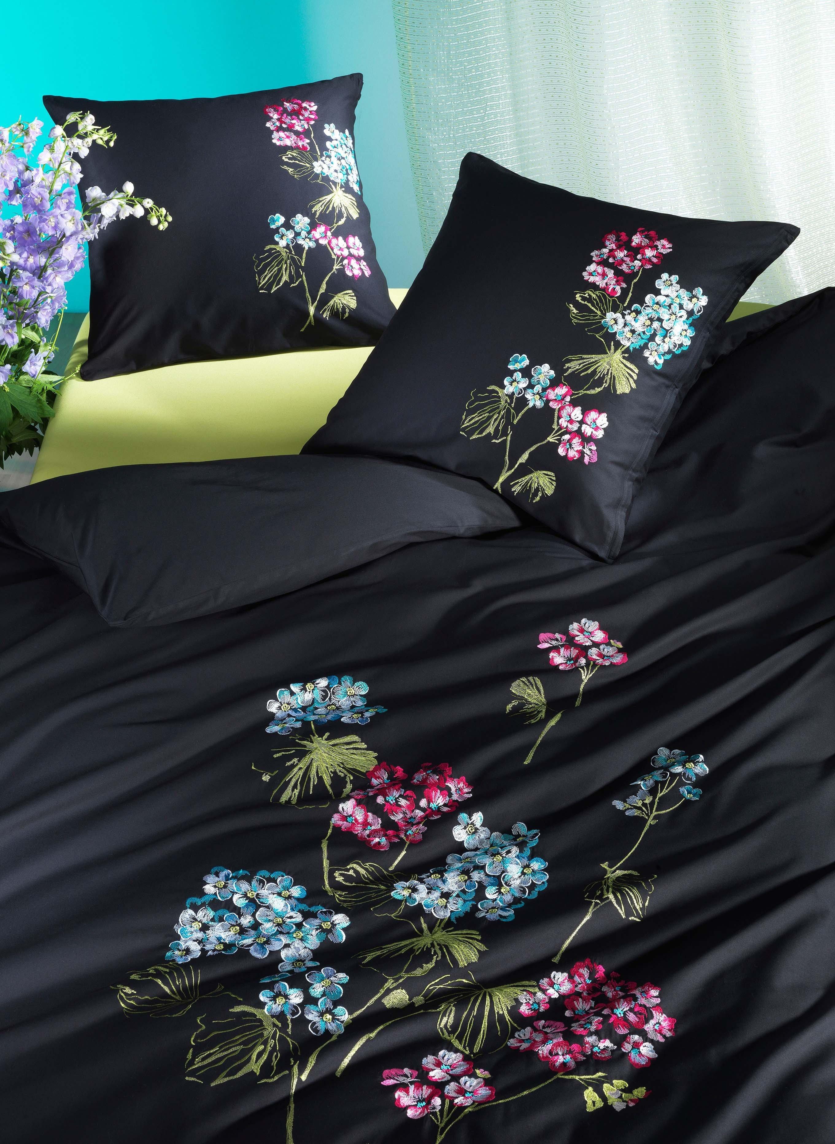 Biancheria da letto in satin  »FLOWERS»