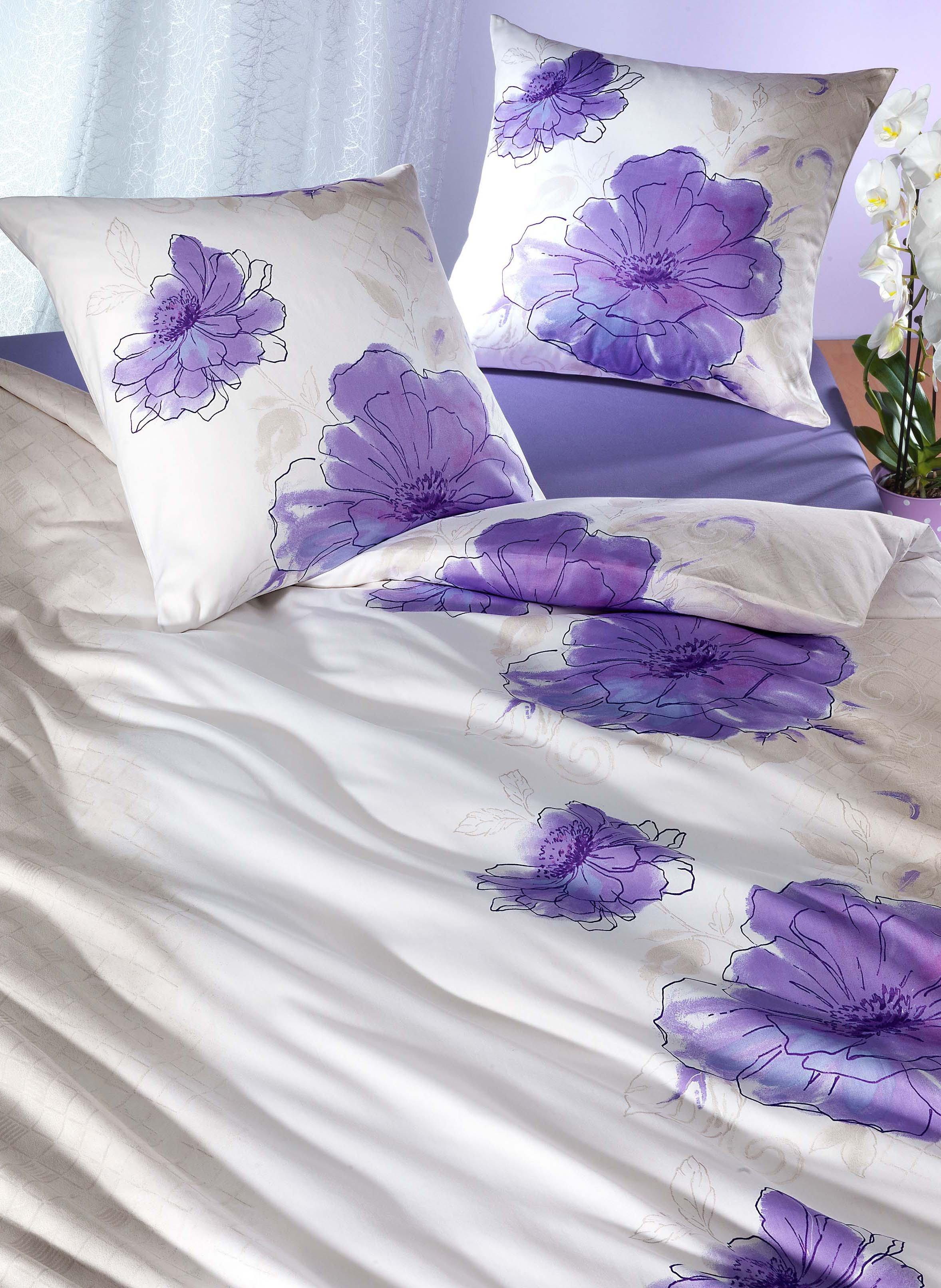 Biancheria da letto in satin fine «ALEXANDRIA»