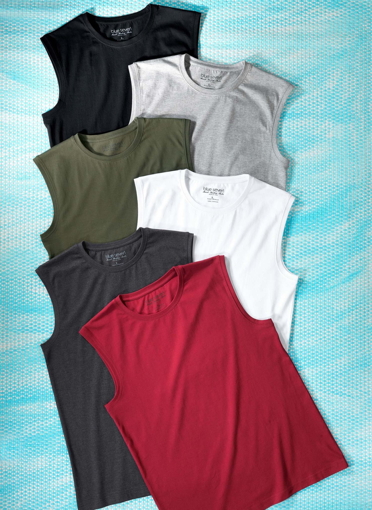 H-Muskel-Shirt schwarz L 010 - 2 - Ronja.ch