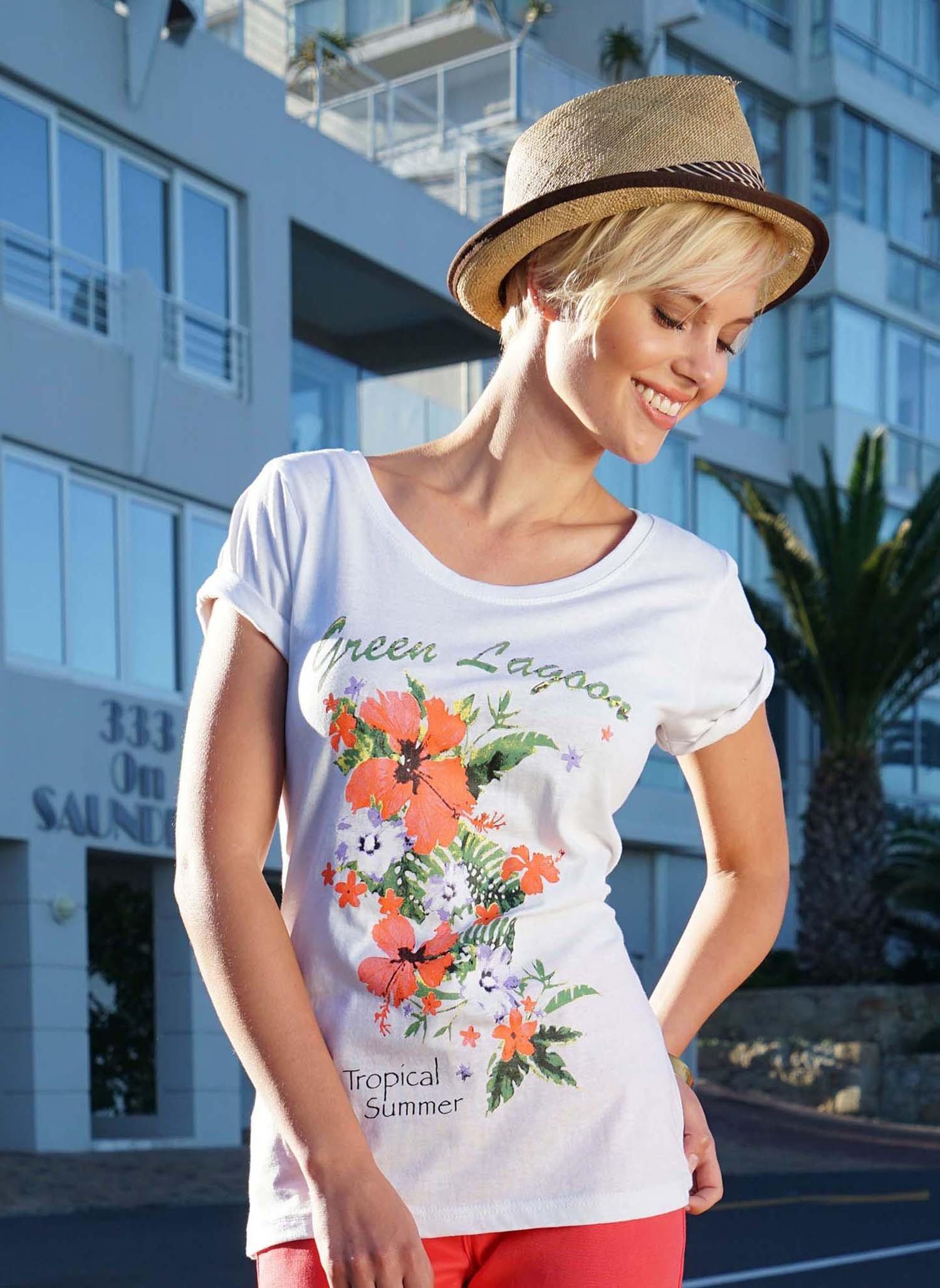 """D-KA-Shirt""""Floral"""" türkis L 069 - 1 - Ronja.ch"""