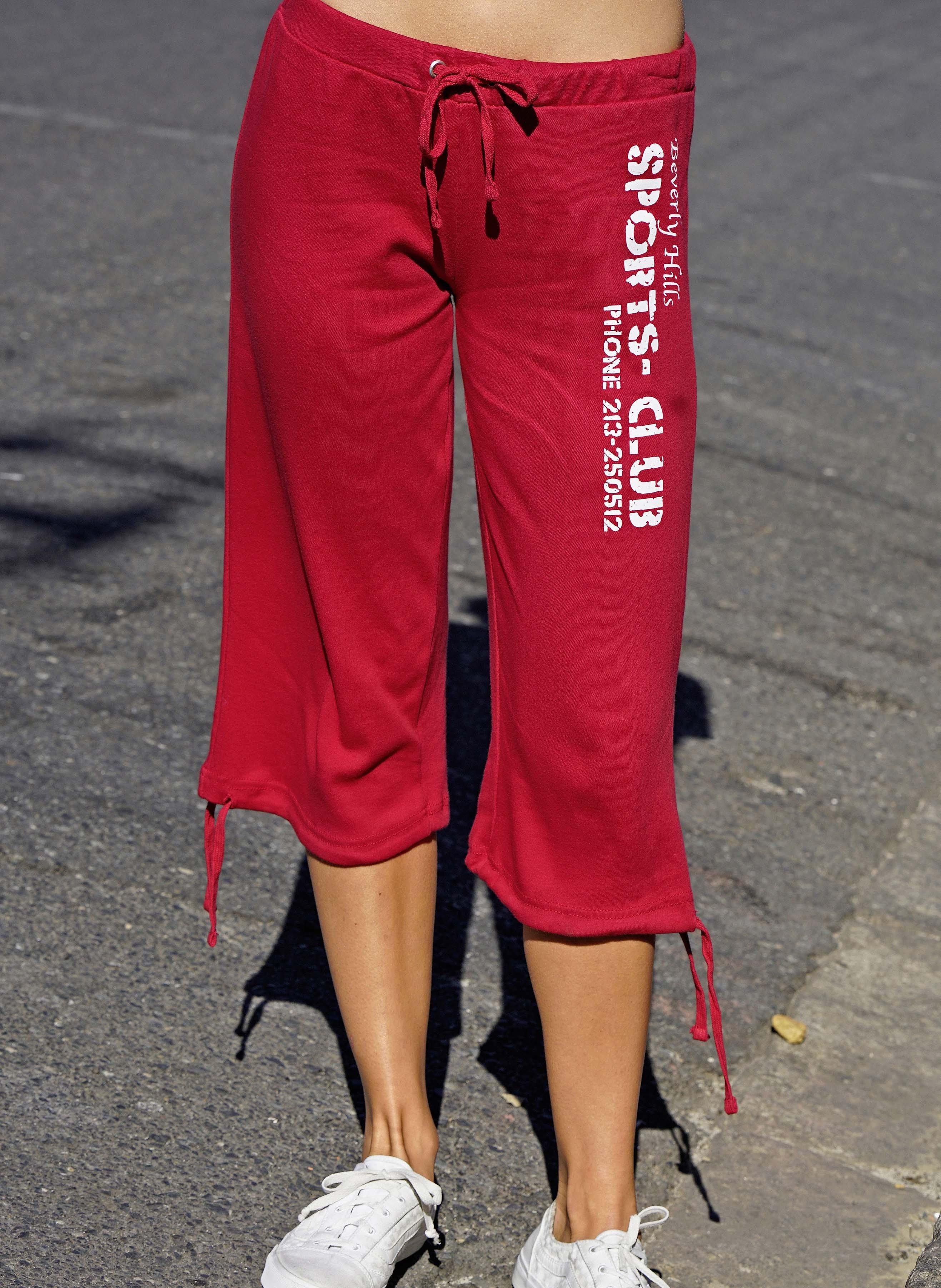 Pantalone Capri «SPORT CLUB»
