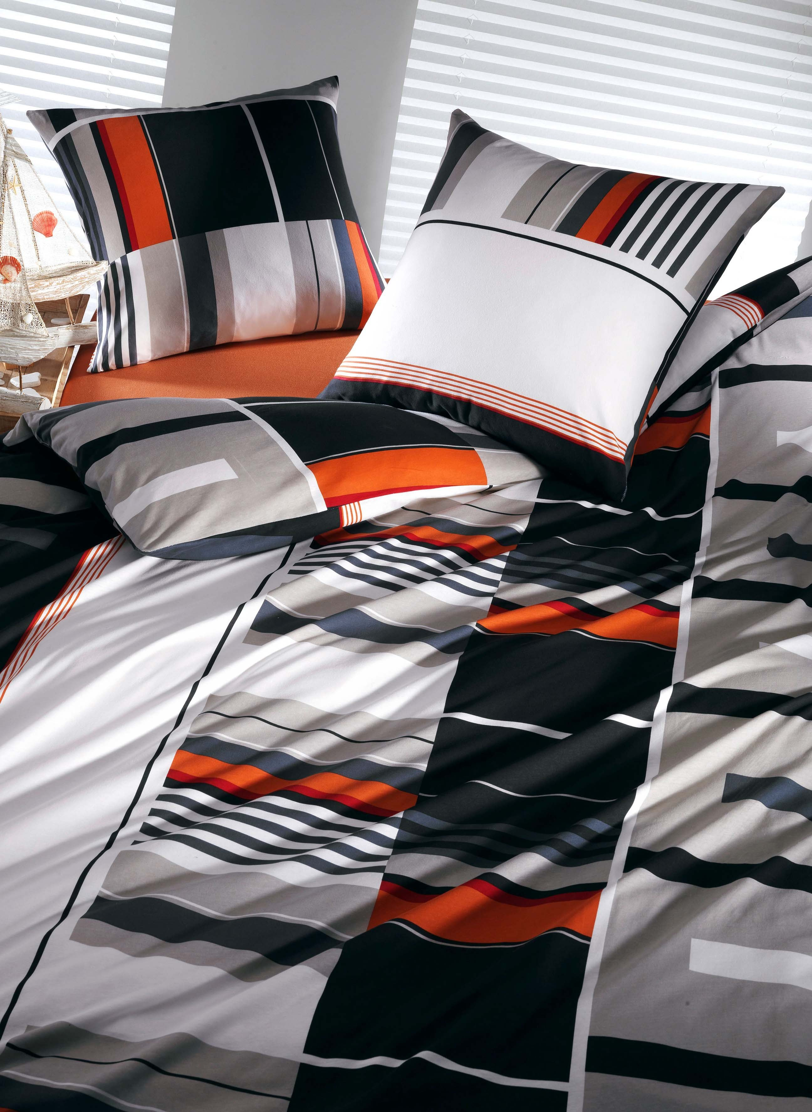 Biancheria da letto in jersey «HYBRIDE»