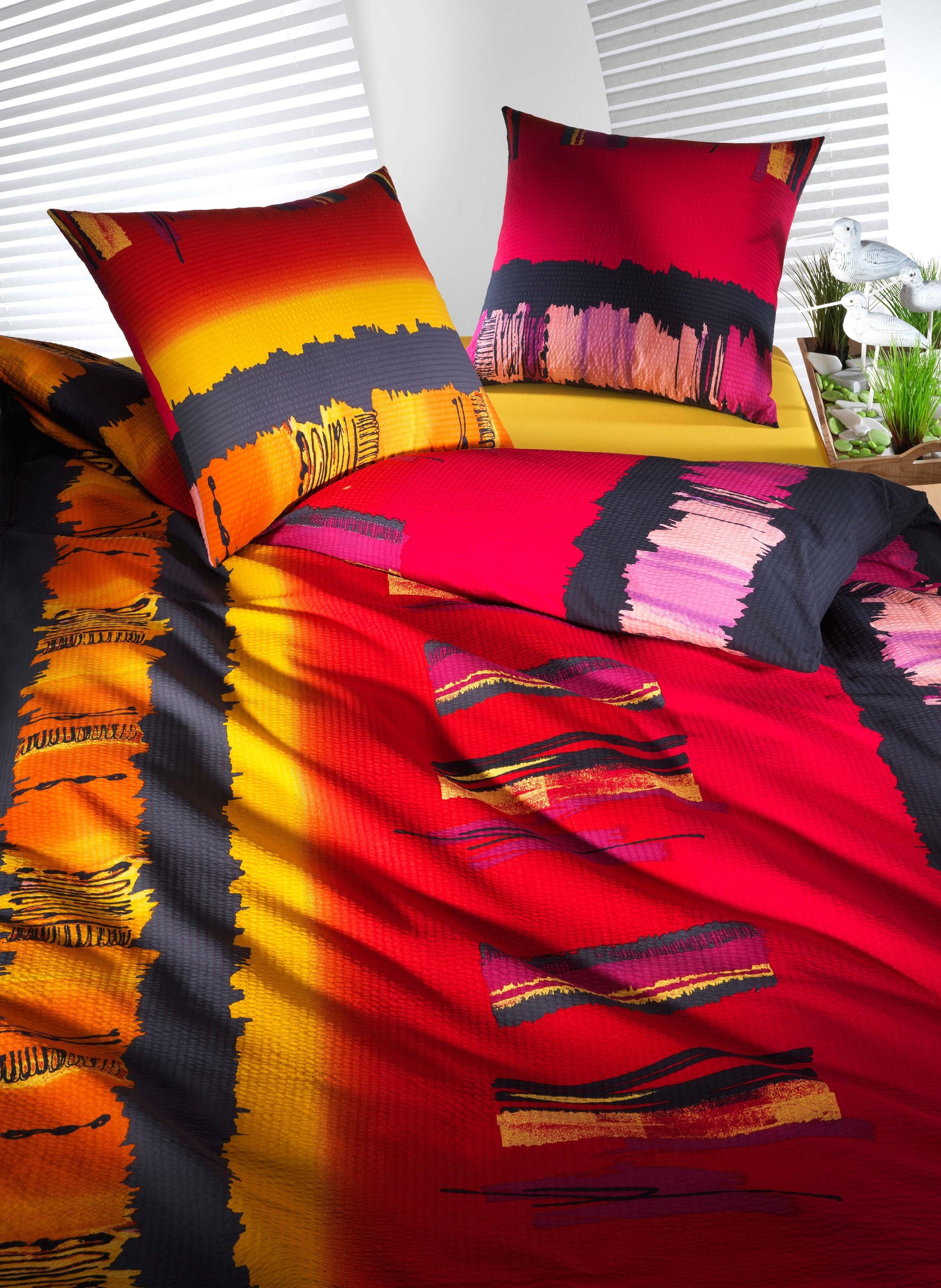 Biancheria da letto in seersucker  «LOANO»
