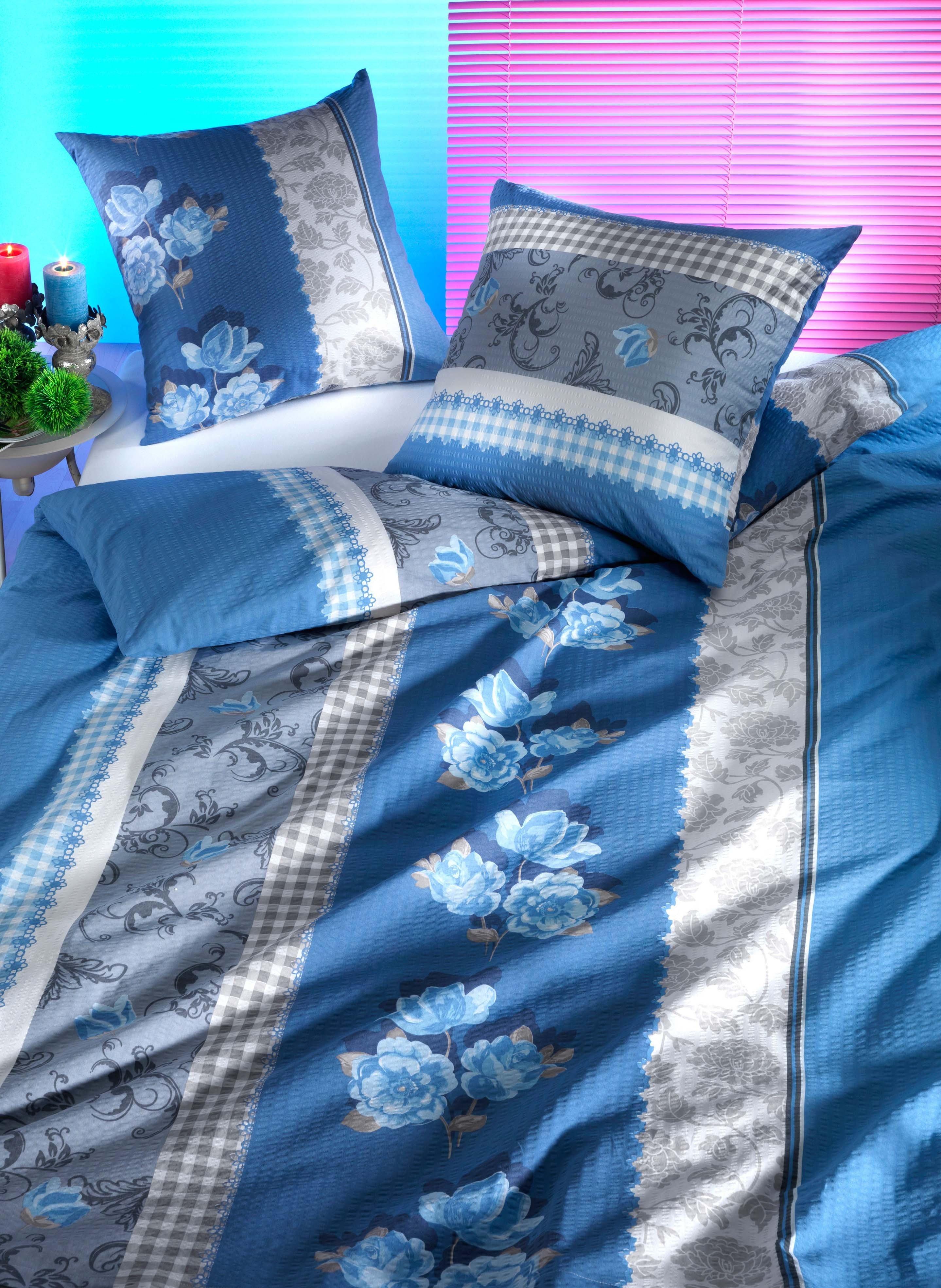 Biancheria da letto in seersucker  «ELODIE»