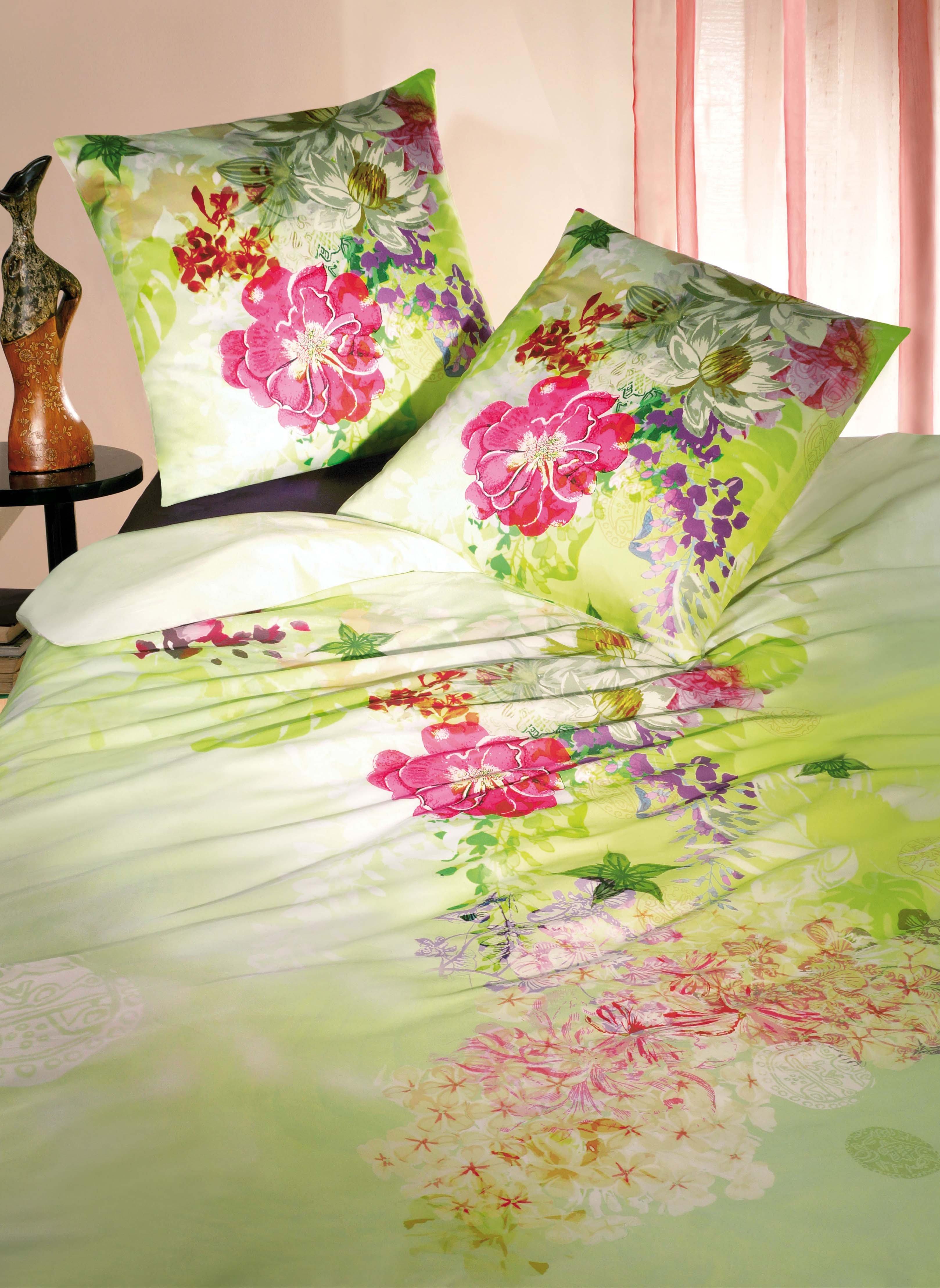 Biancheria da letto in satin «POESIA»