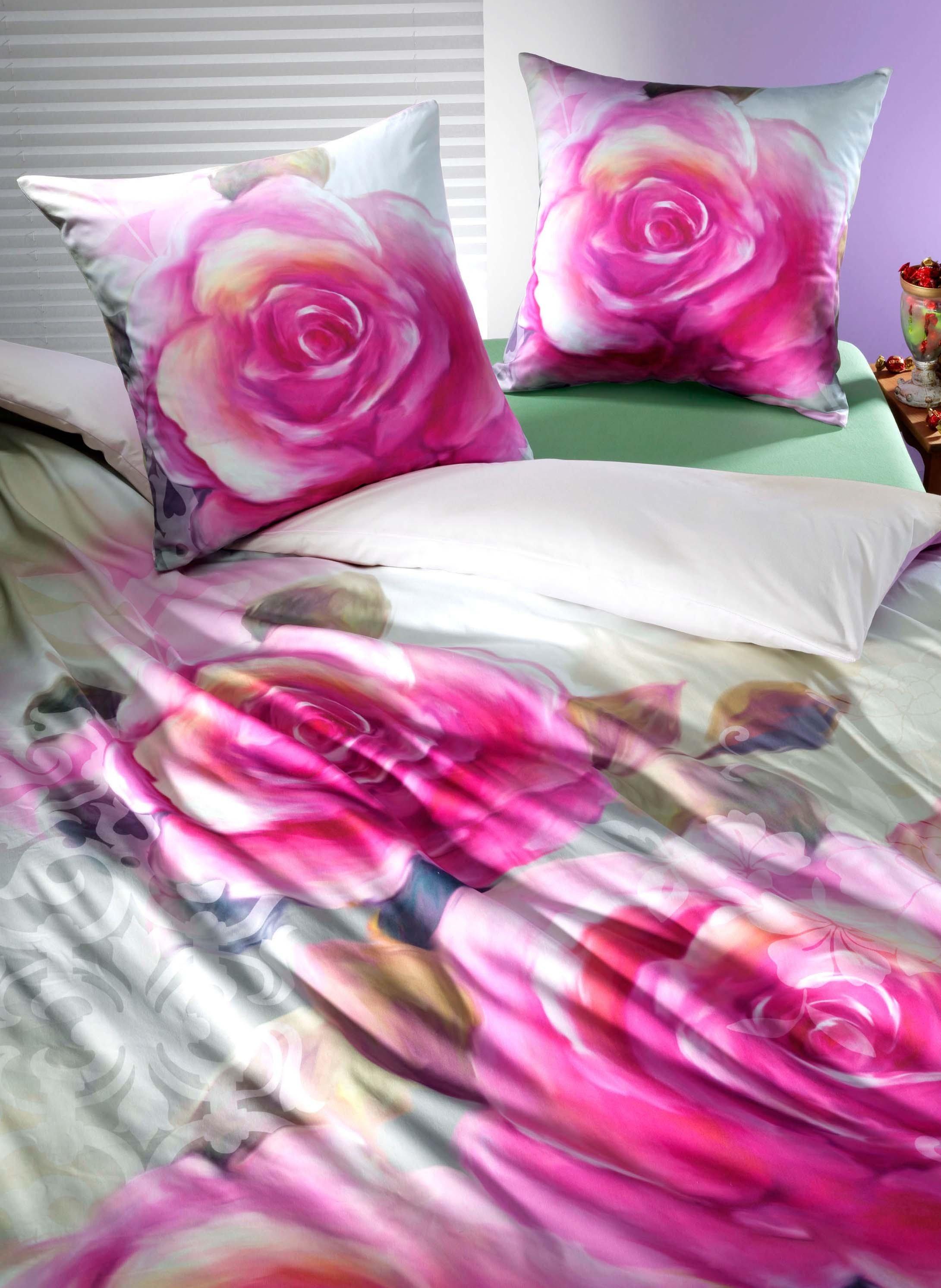Biancheria da letto in satin «BACARA»