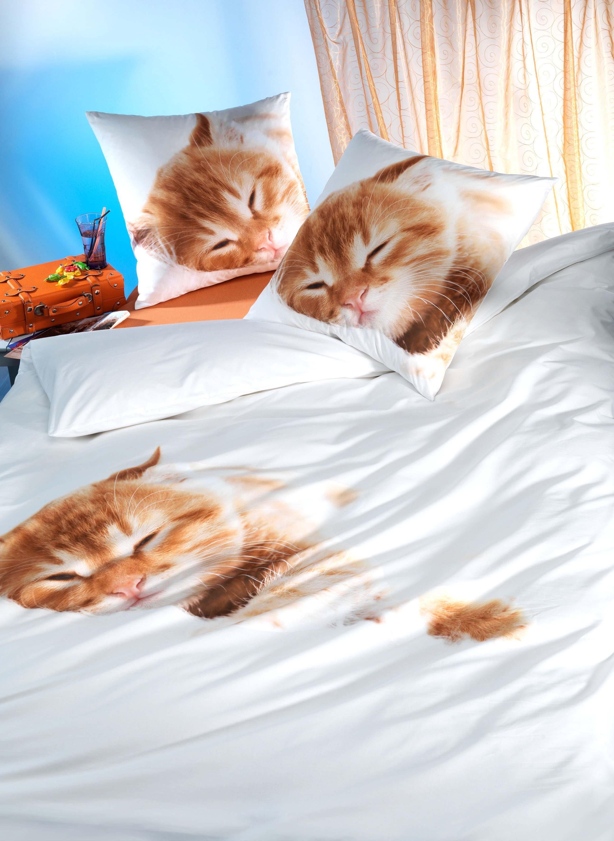 "Biancheria da letto ""RED KITTEN"""