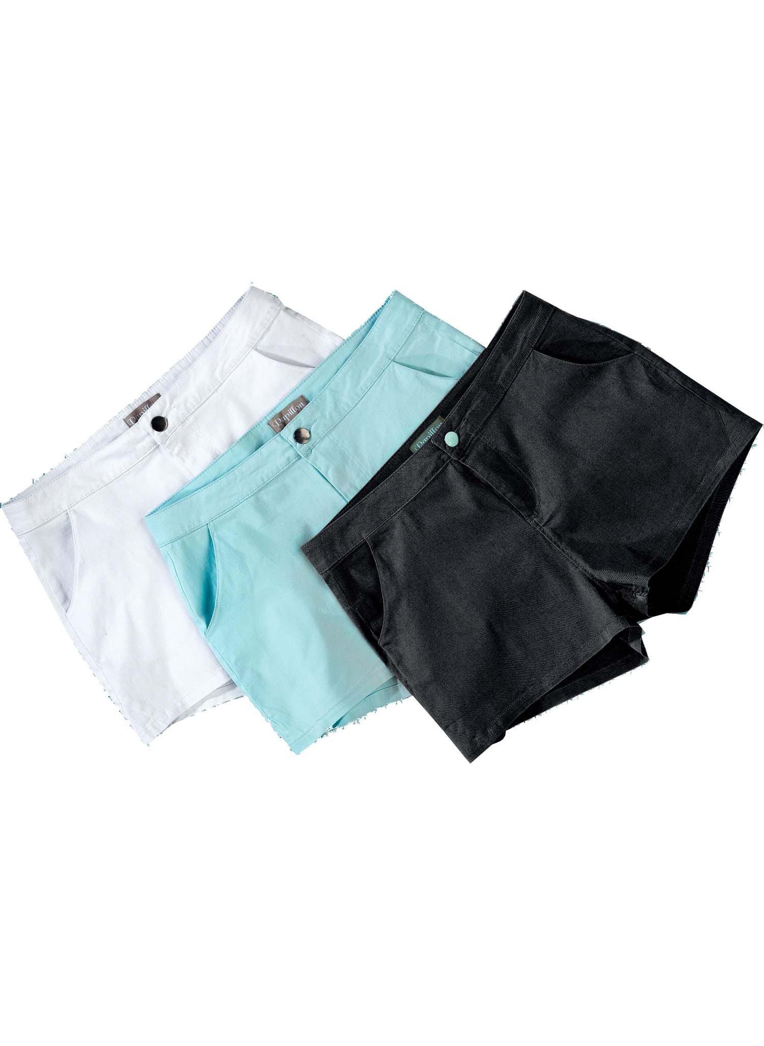 D-Shorts-Stretch schwarz L 010 - 2 - Ronja.ch