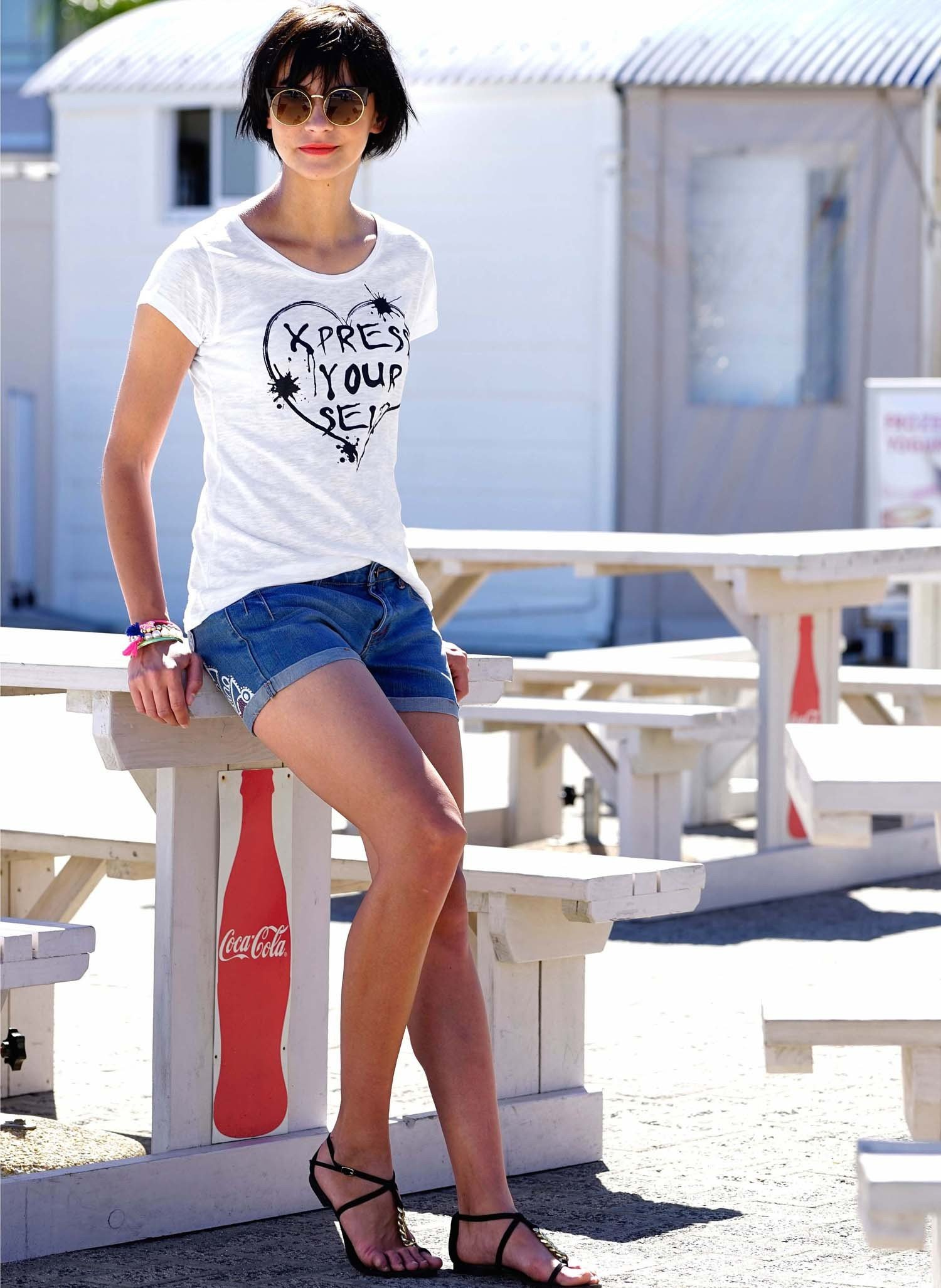 D-5P-Jeans-Shorts,Blue-Denim 34 050 - 1 - Ronja.ch