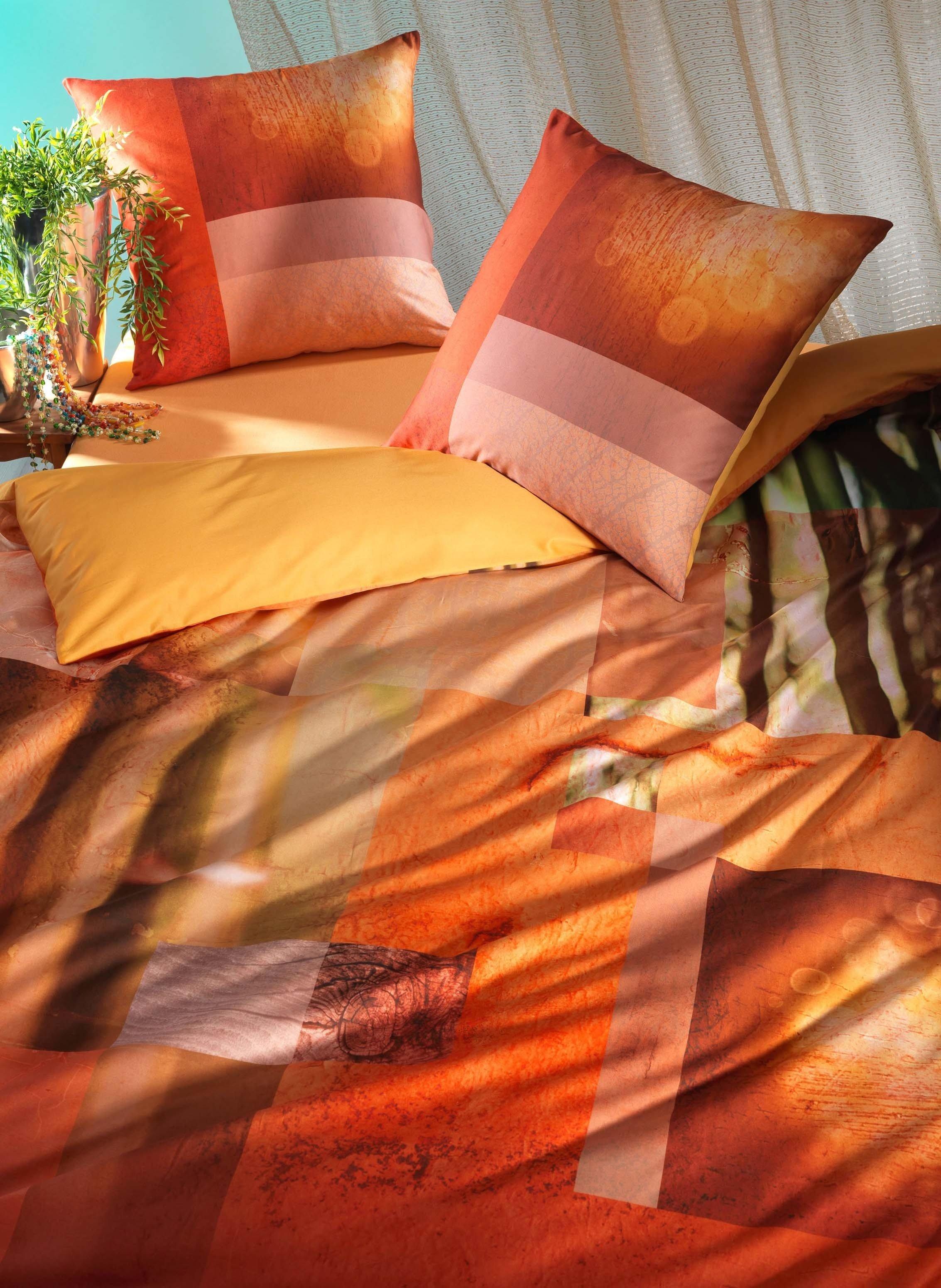 """S-Duvet""""ECO""""160x210cm orange"""