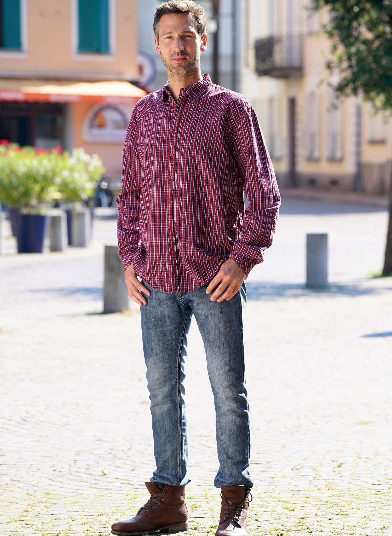 H-5P-Jeans,Knopfverschl.Blue-D 38 050