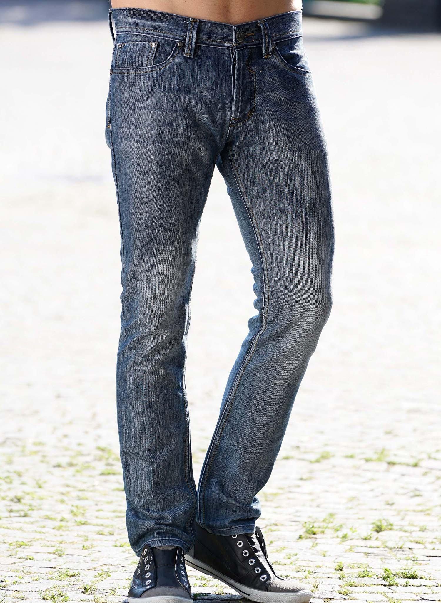 H-5P-Jeans,Knopfverschl.Blue-D 50 050 - 2 - Ronja.ch
