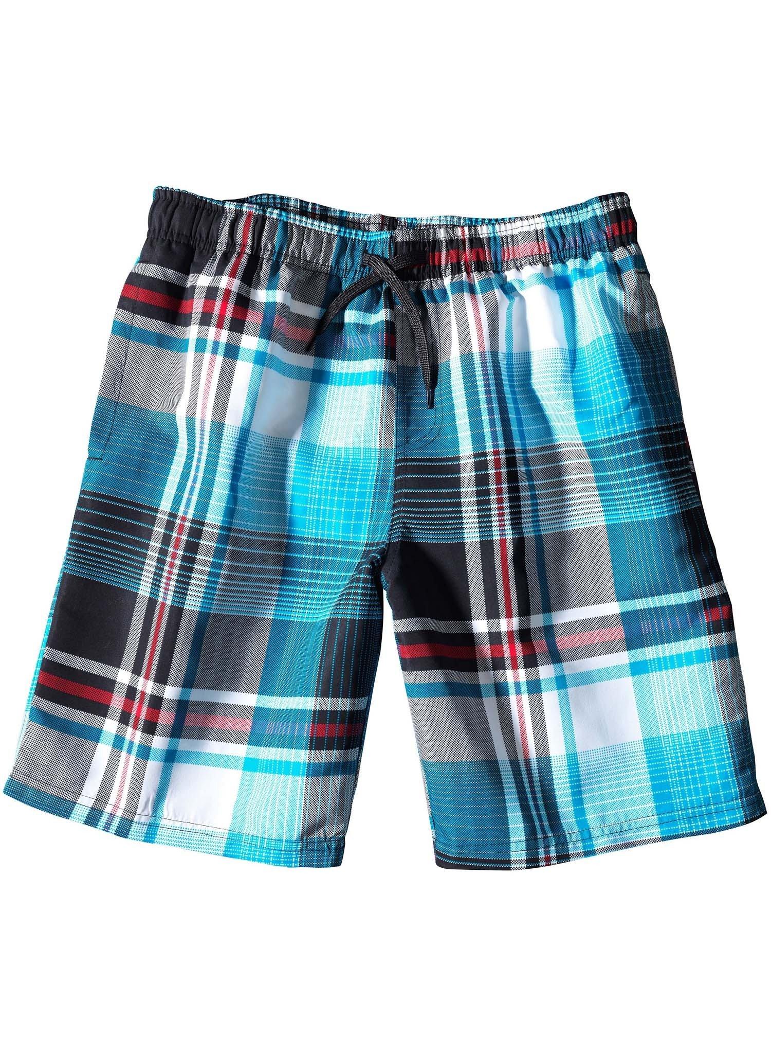 H-Bade-Shorts,Karo blau L 047 - 2 - Ronja.ch