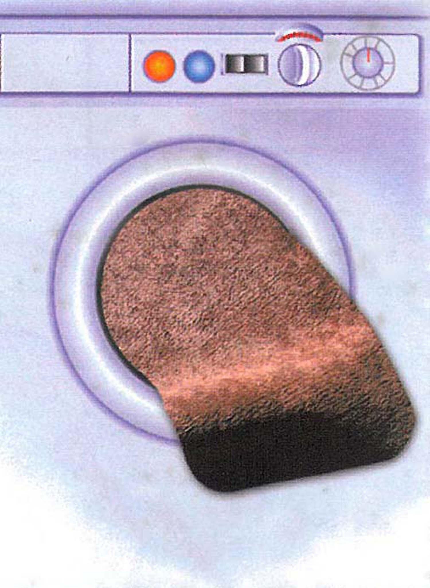 Waschbare Teppichvorl.braun - 3 - Ronja.ch