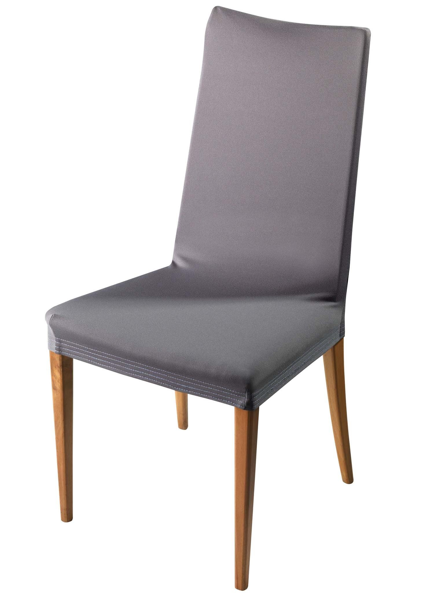 Schonbezug,Stühle grau 2St. - 1 - Ronja.ch