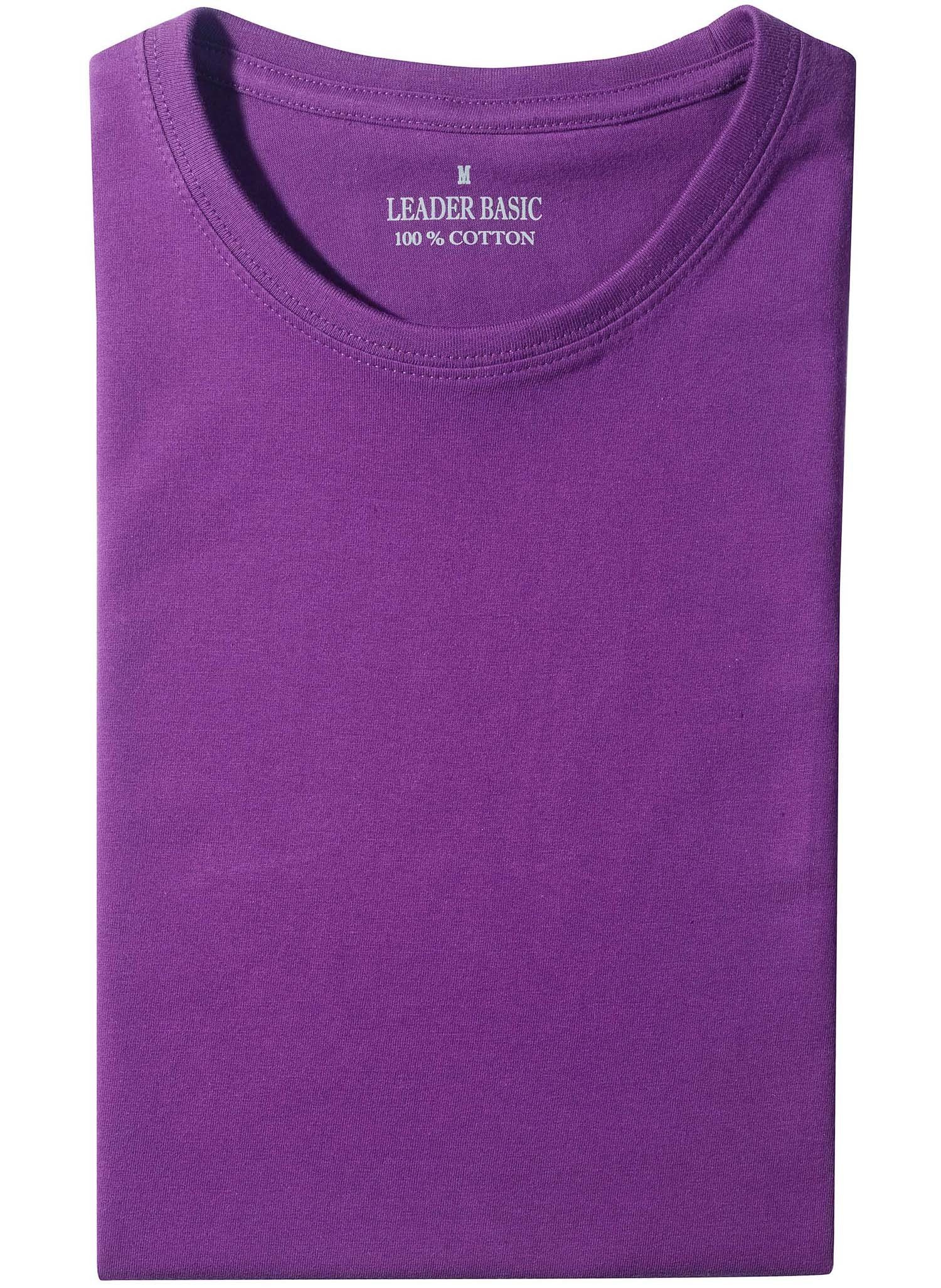 U-Duo-Pack-Shirt violett XXXL 036 - 1 - Ronja.ch