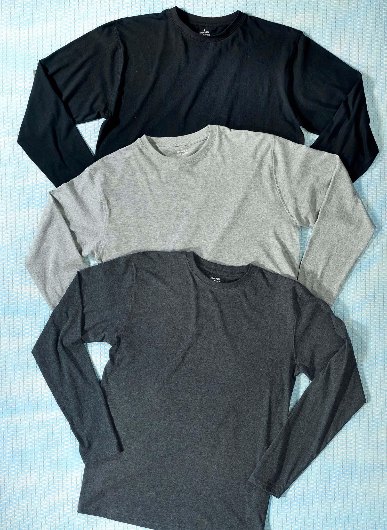 H-LA-Shirt,Rundhals schwarz L 010 - 2 - Ronja.ch