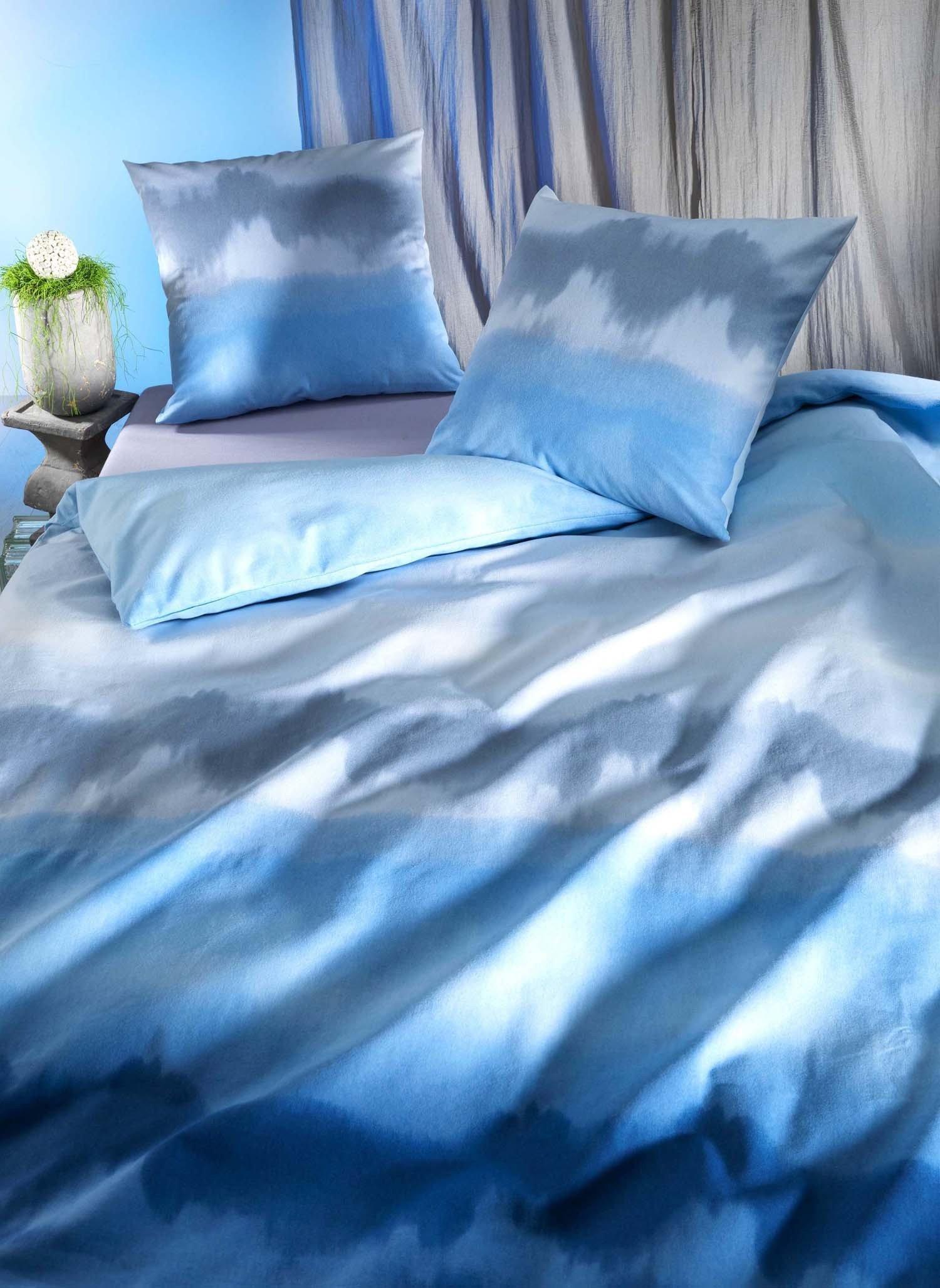 "FL-Kissen""SINFONIE""50x70 blau - 1 - Ronja.ch"