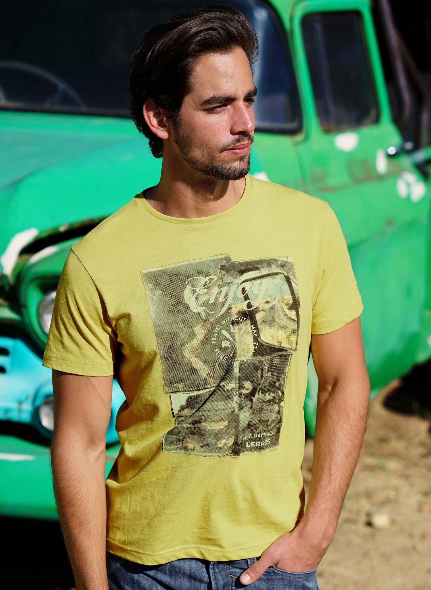 "H-KA-Shirt""ENJOY""senf L 018 - 1 - Ronja.ch"