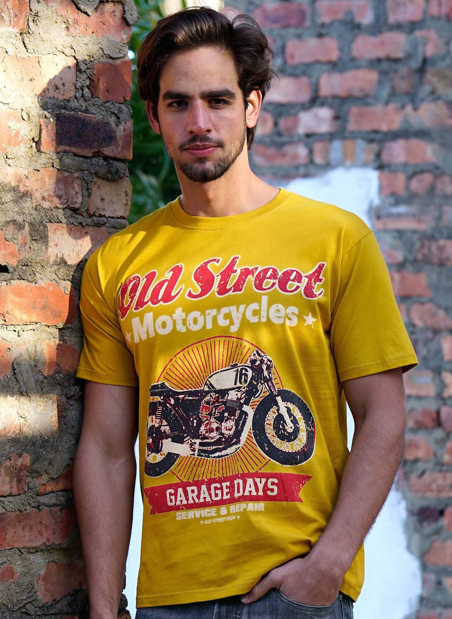 "H-KA-Shirt ""Old Street"" senf L 018 - 1 - Ronja.ch"