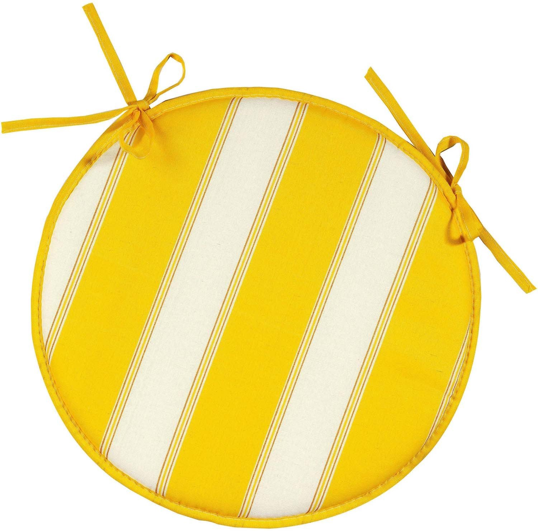 Cuscini-sedia roton.giallo 2pz