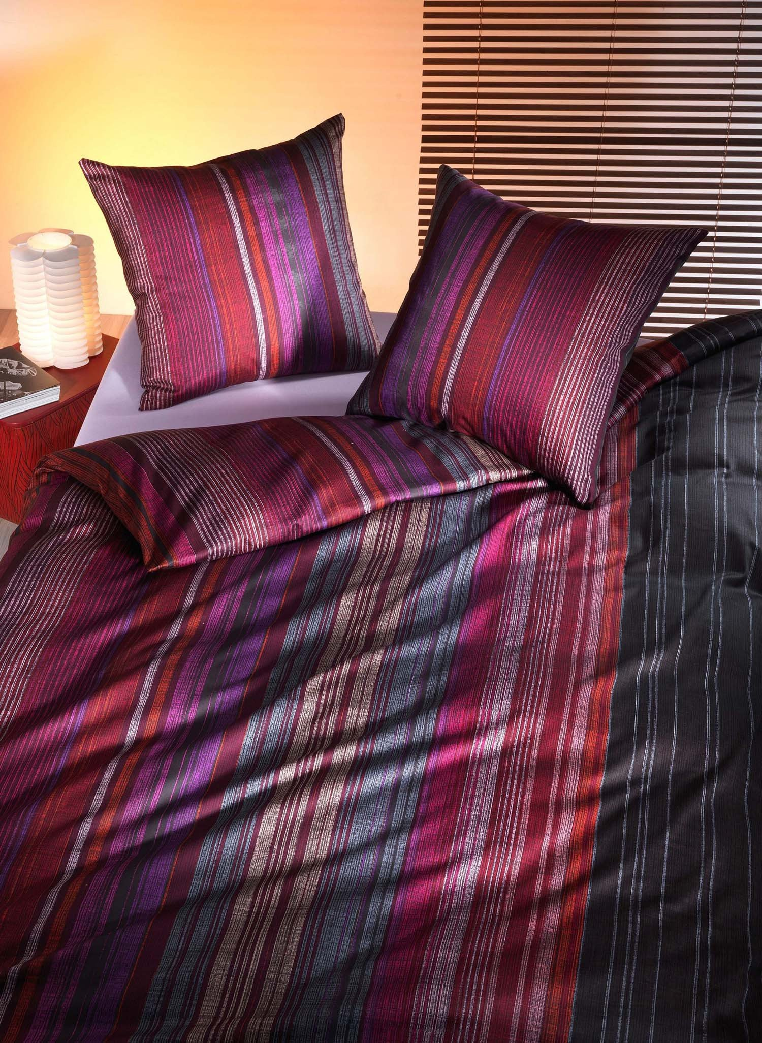 Biancheria da letto in satin «ANDREA»