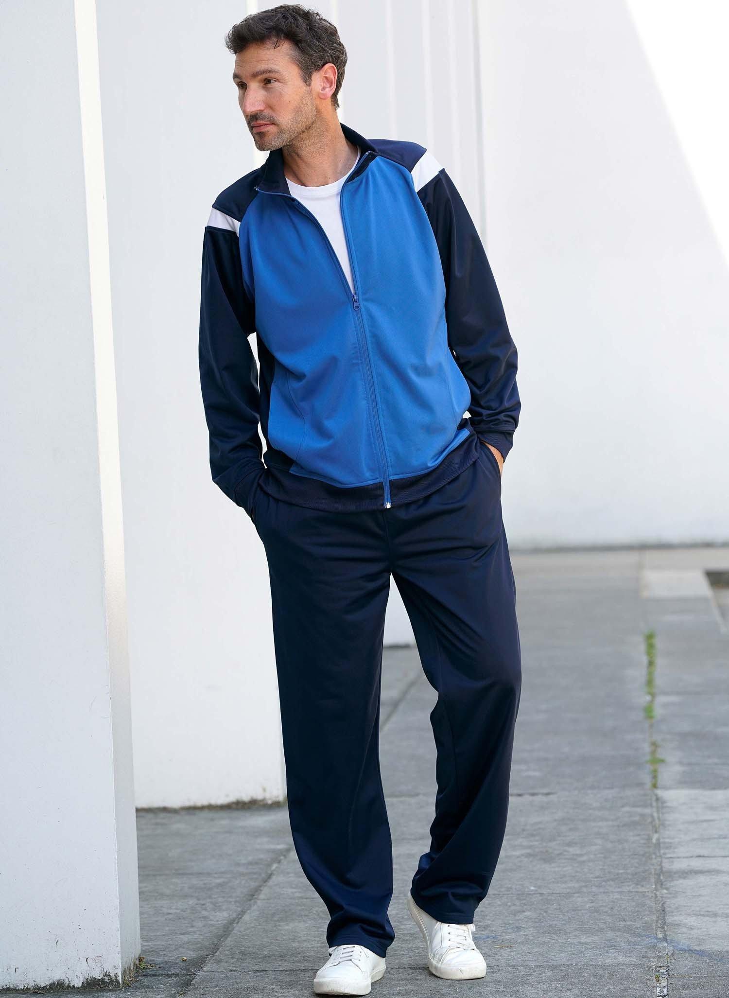 H-Jogging-Anzug marine/k'blau L 052 - 2 - Ronja.ch