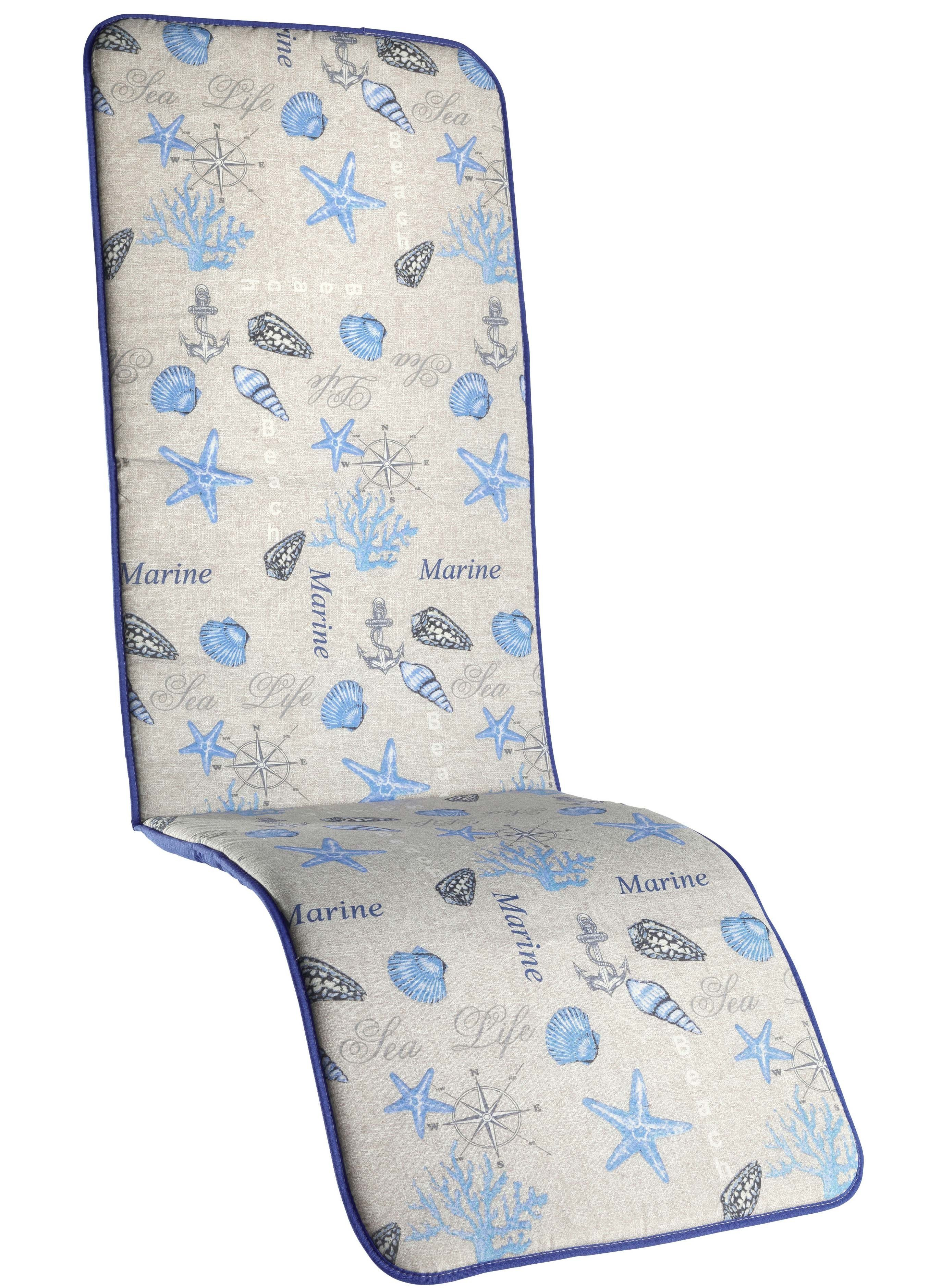 Cusc.sedia lungo st.mare blu