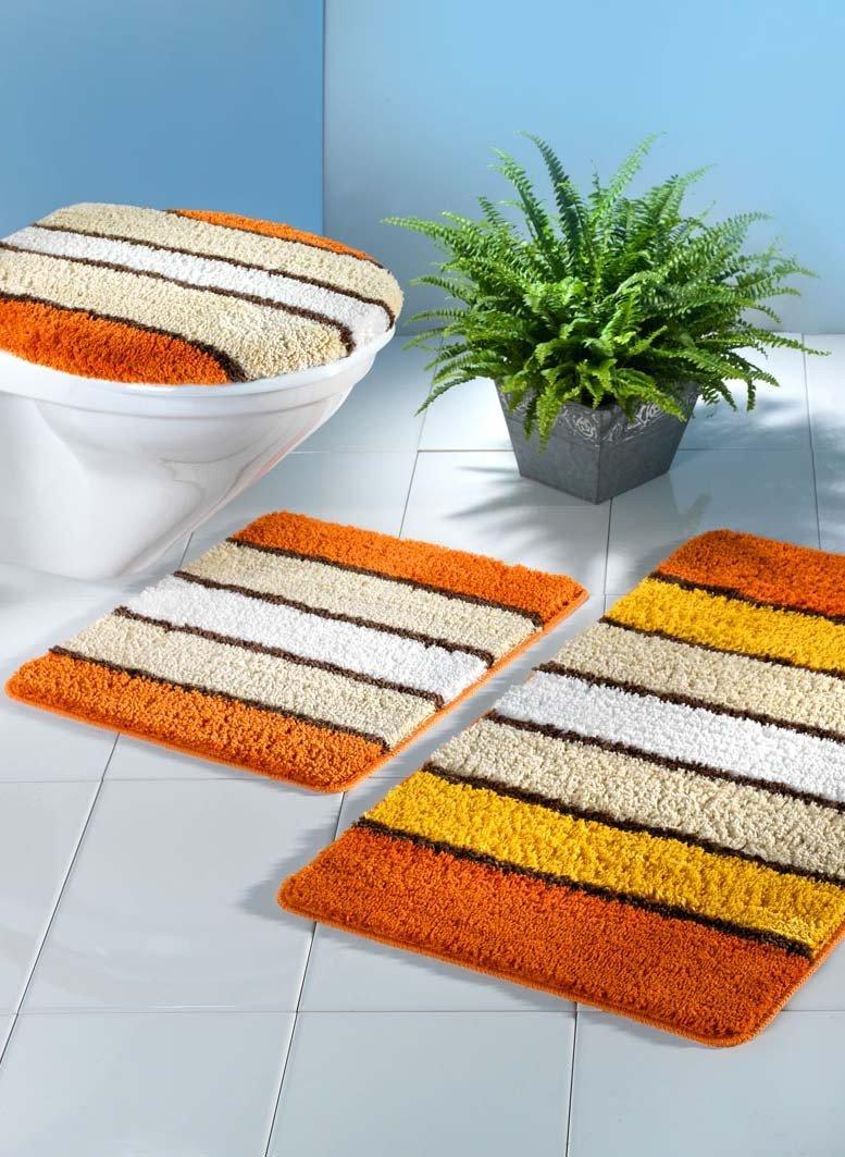 G.Bagno/WC,3p.arancio s.taglio