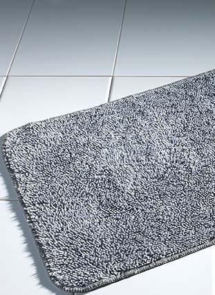 Tappeto bagno,50x90cm grigio