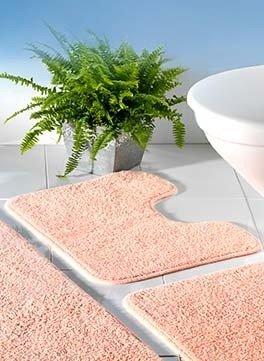 WC-Tappeto c/T.albicoc.55x45cm