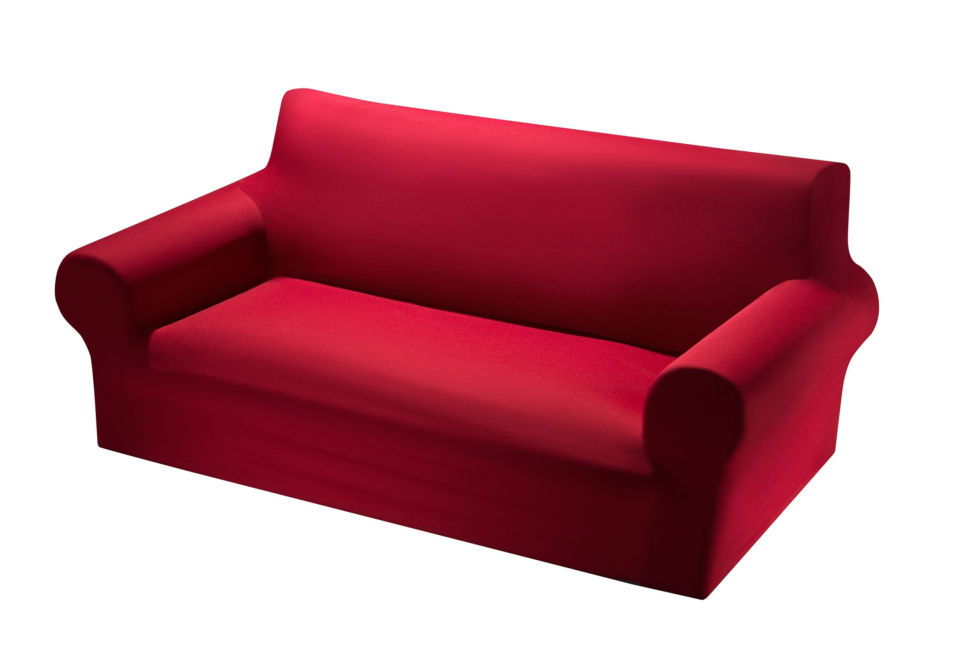 Schonbezug,2er-Sofa bordeaux