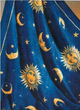 """^Coperta """"Sole / Luna"""""""