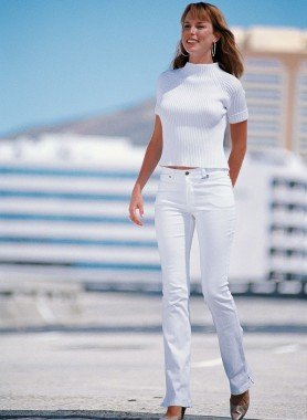 Colors-Jeans vita bassa