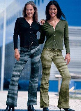 Pantalone, color Batik