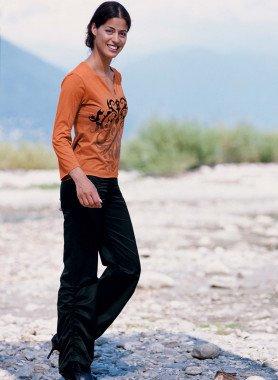 Pantalone da arricciare