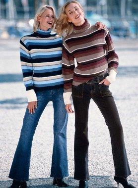 Jeans, tasche cargo