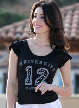 """Shirt con maniche corte """"University 12"""""""