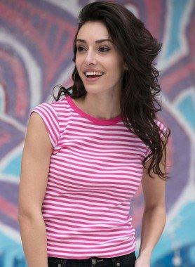 Shirt, righe a colori