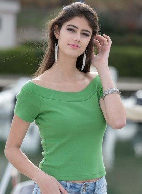 Shirt, Carmen 2pezzi ( 1 bianco + 1 in colore a scelta)