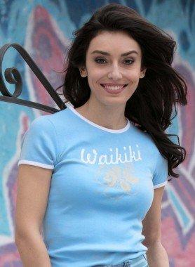 "Shirt fiore ""Waikiki"""