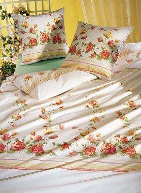 "Biancheria da letto in satin  ""ROSINA"""