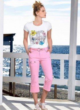 Pantalone Capri, cintura