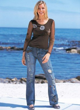 Jeans stretch 4 tasche