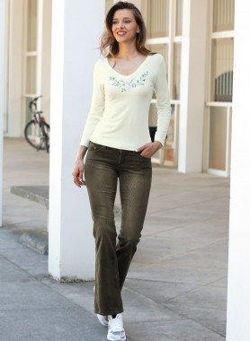 Pantalone-coste,5-tasche