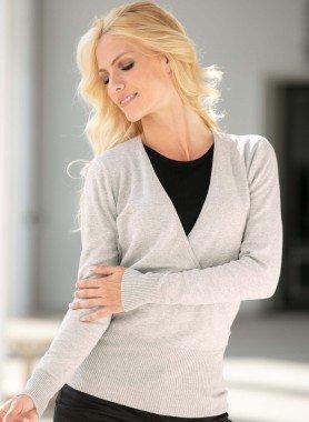 Pullover di maglia fine