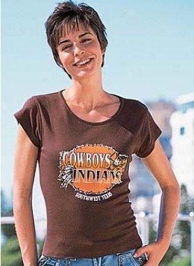 """Kurzarm-Shirt  """"Cowboys"""""""