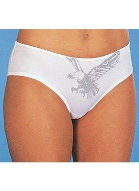 Panty, aquila stampata, 3 pezzi